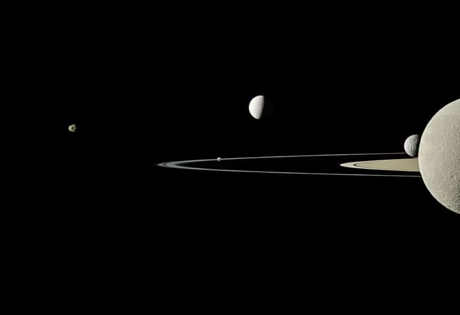 how to see saturn