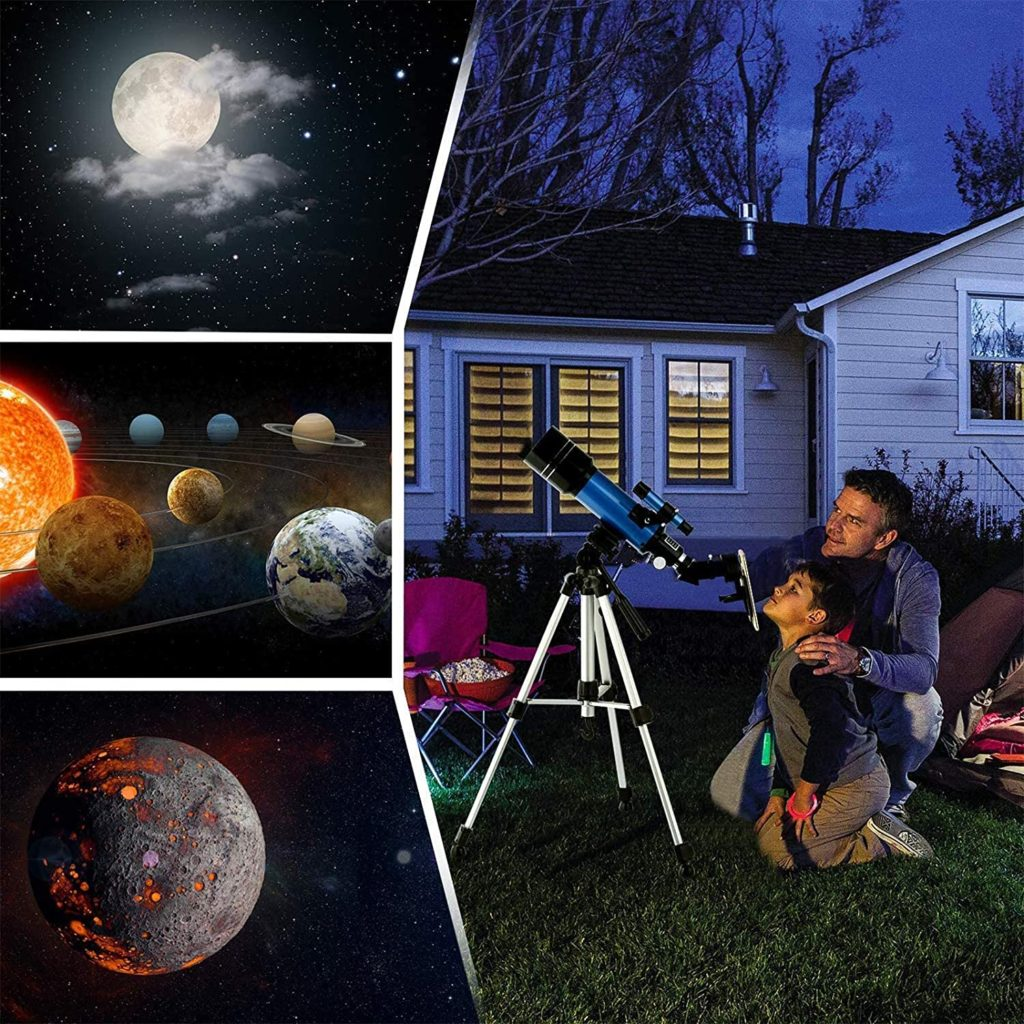 telescope for smartphone astrophotography