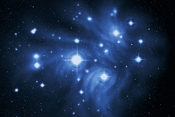 orion and the seven sisters