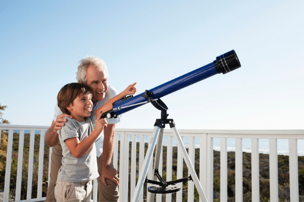 is it safe to use telescope during the day